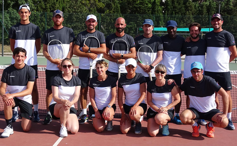 L'Équipe enseignante tennis Marseille CSM