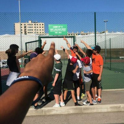 Stage de tennis vacances enfants débutants et confirmés