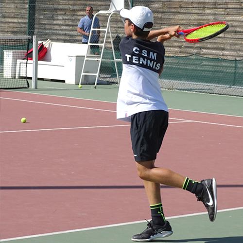 CSM Tennis Stage enfants à Marseille